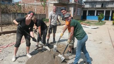 Campi di lavoro in Nepal con Projects Abroad
