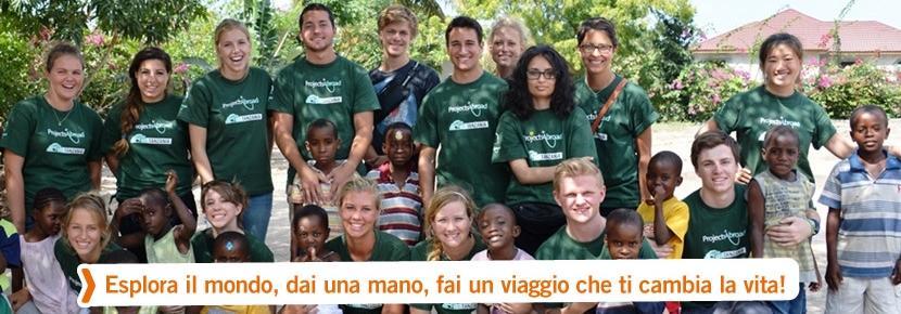 Campi di volontariato internazionale, foto di gruppo