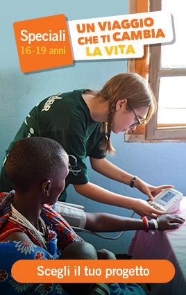 Campi di volontariato e orientamento agli studi per giovani