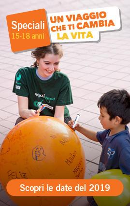 Campi di volontariato e Orientamento agli Studi per giovani 15-18 anni