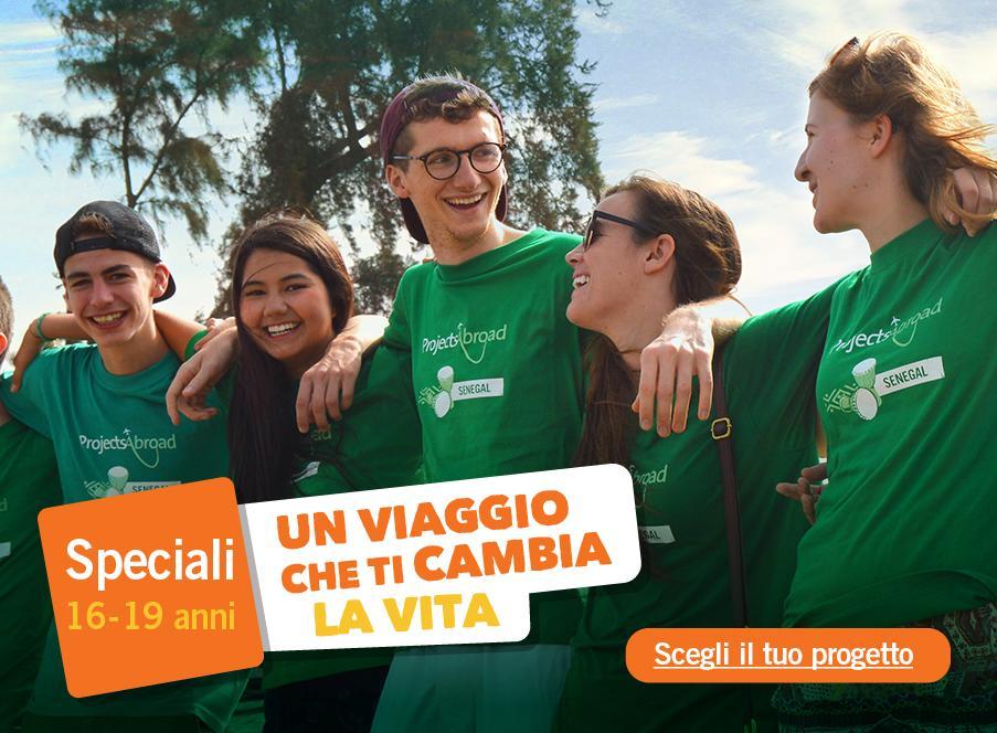 Campi di volontariato per giovani dai 16 ai 19 anni!