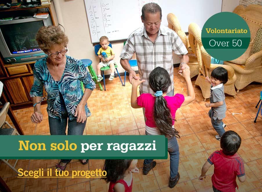 Progetti di volontariato internazionale senior per gli over 50