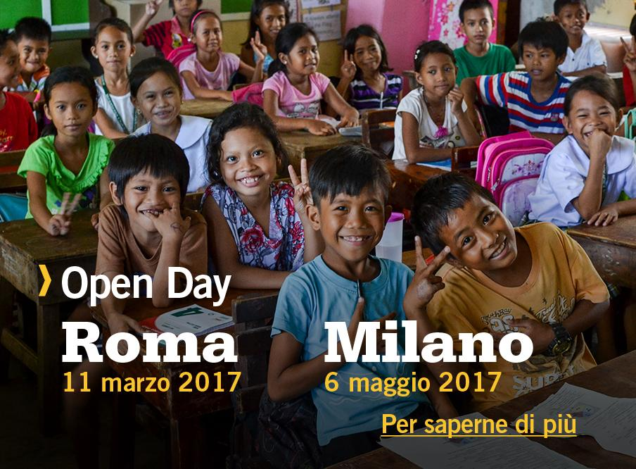 Partecipa all'Open Day di Projects Abroad