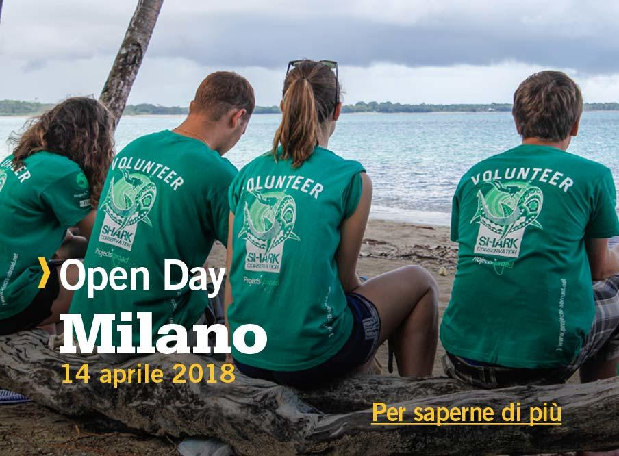 Open Day di Projects Abroad a Milano