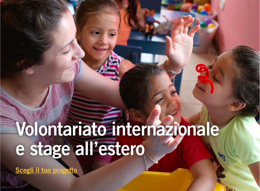 Missioni di volontariato e stage all'estero