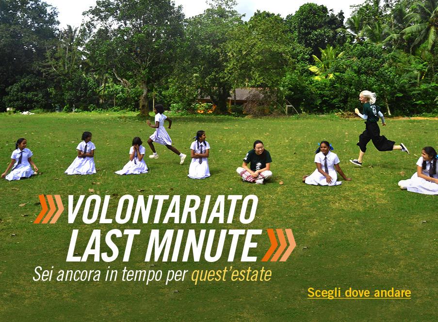 Opportunità di volontariato quest'estate