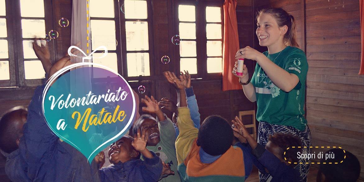 Campi di volontariato internazionale – Natale