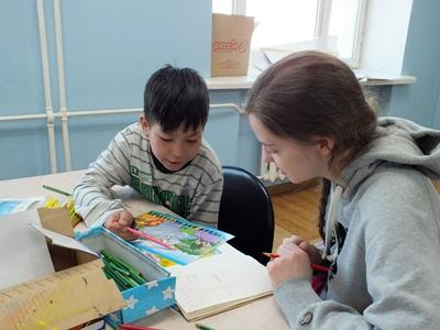Volontariato con i bambini in Mongolia
