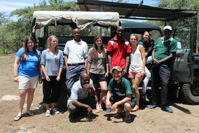 Kenya, i ragazzi del Campo di Volontariato Ambientale