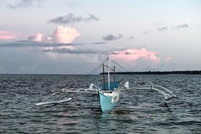 Filippine, un'imbarcazione locale