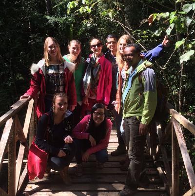 Volontari internazionali in Madagascar