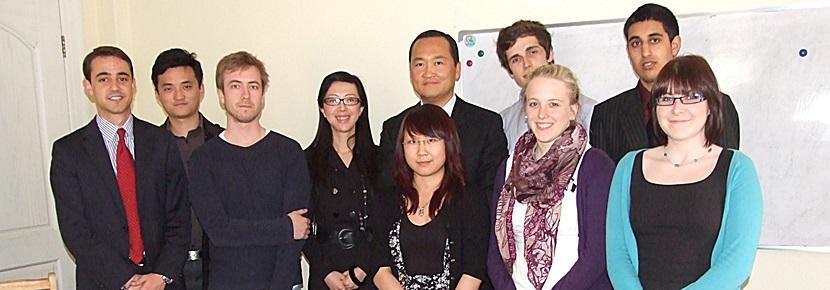 I volontari del progetto di economia