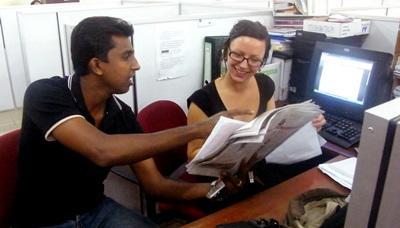 Srilanka-Stage di giornalismo