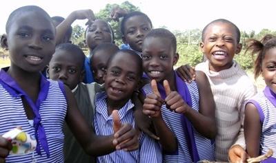 Una classe aderente al progetto di insegnamento in Ghana