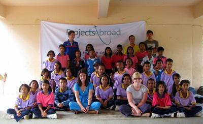 Una classe aderente al progetto di insegnamento in Thailandia