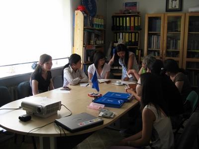 Gruppo di lavoro per lo studio di un caso legale in Mongolia