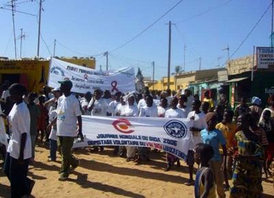 Una manifestazione a favore dei diritti dell'uomo in Senegal