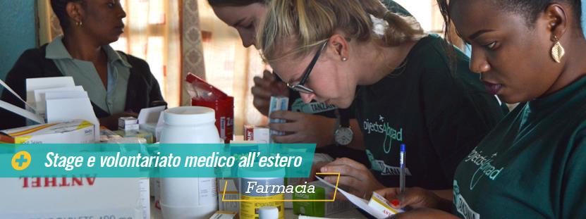 Farmacisti volontari  impegnati nelle campagne di prevenzione nelle comunità rurali in Africa