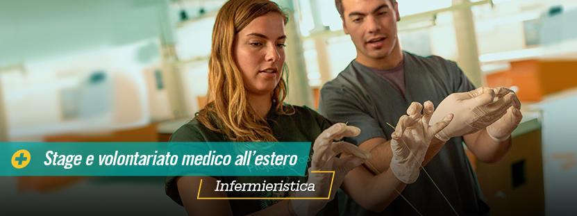 Una volontaria del progetto di infermieristica al lavoro in Bolivia