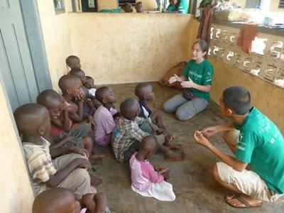 Logopedia in Togo, due volontari durante il progetto