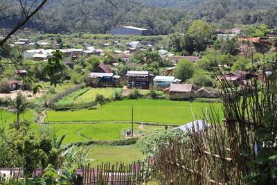 Il villaggio di Andasibe, dove ha sede il progetto di volontariato e stage in medicina e salute pubblica in Madagascar
