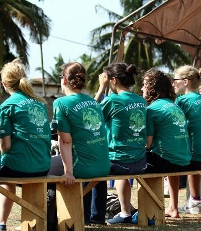 I volontari di Projects Abroad sono coinvolti in attività di sensibilizzazione a Lomè, Togo