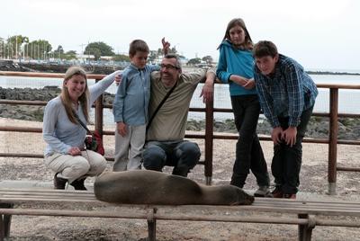 Sudafrica, una famiglia di volontari