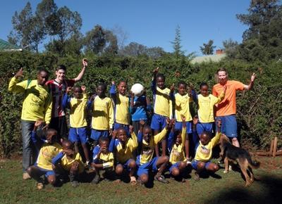 Allenatore sportivo in Africa