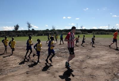 Volontariato sportivo in Africa