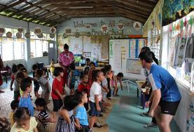 Volontariato e Samoa