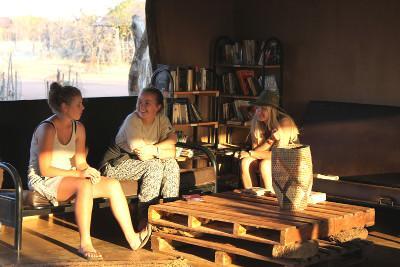 I volontari ambientali in Botswana durante il tempo libero