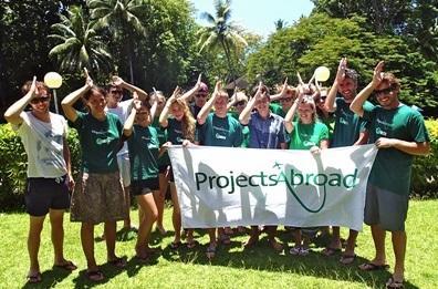 Volontari dei progetti di volontariato alle Fiji