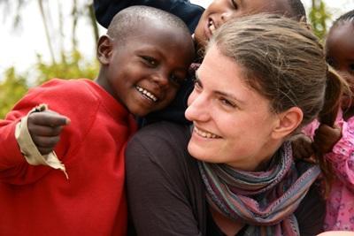 Volontariato con i bambini in Kenya