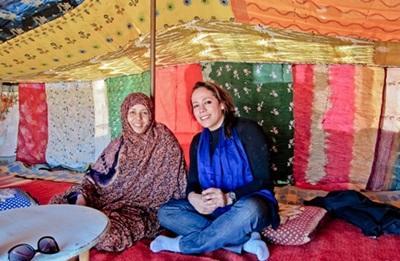 Volontaria per il progetto nomadi in Marocco