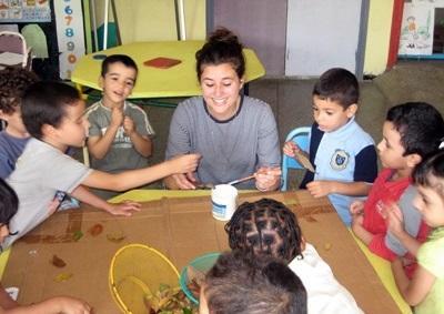 Volontaria in una scuola in Marocco