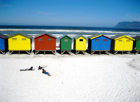 Spiaggia di Cape Town, Sudafrica
