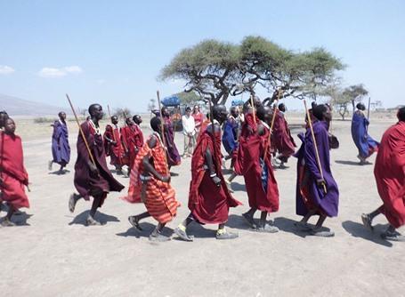 Masaai in tanzania