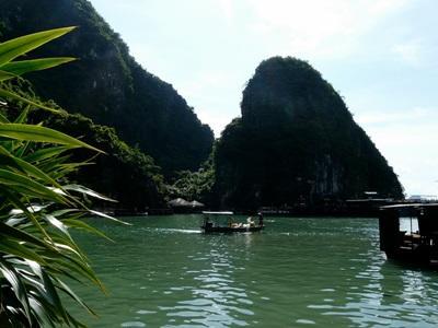 Veduta di uno dei meravigliosi scenari del Vietnam