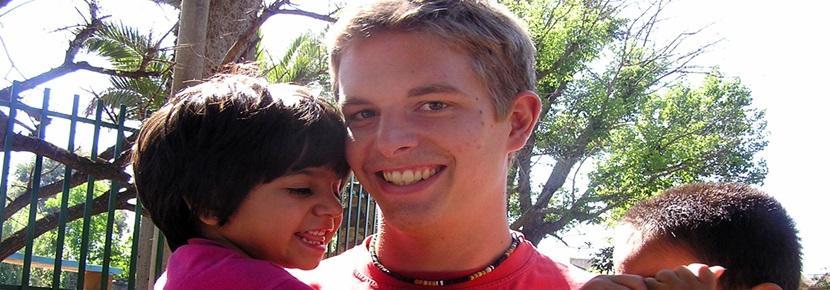 Un volontario in missione umanitaria in Argentina