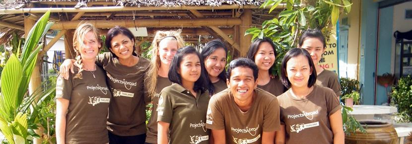 Lo staff locale in Thailandia