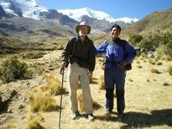 Volontari in escursione in America Latina